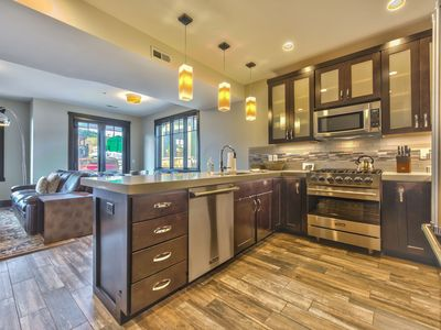 Photo for CDC Approved Cleaning! Lux Mountain Modern Townhome - Hot tub + Club House Amenities.
