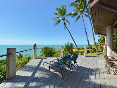 Photo for 5 Wharf Street - 5 Bedroom House with Spectacular Coral Sea Views