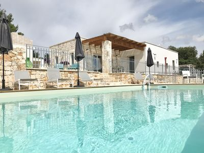 Photo for Modern rustic boutique trullo in calm/tranquil setting  with unbeatable views
