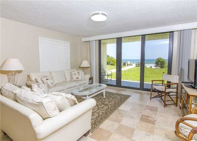 A bright and welcoming home away from home - Sand Dollar II 101 is a bright and comfortable condo designed to make the most of the views afforded by its convenient location.