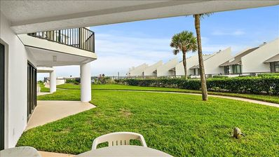 Photo for New Property! Intimate 1st Floor Seaside Escape with Easy Pool and Beach Access!