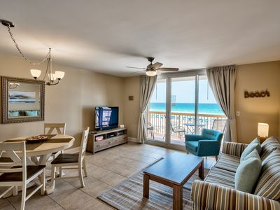 Photo for Upscale Beachfront at Pelican, Ocean View, Pools, Beach Chairs, Wifi, Netflix