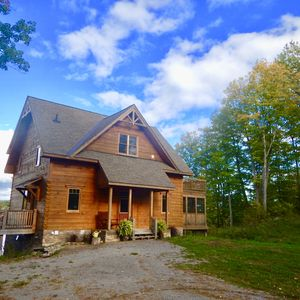 Photo for Beautiful log home now booking fall and winter getaways