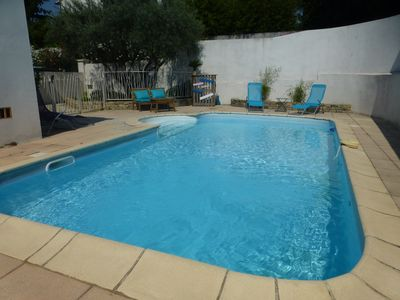 Photo for VILLA with SWIMMING POOL 4 bedrooms, MONTPELLIER-Castelnau le lez, near BEACH