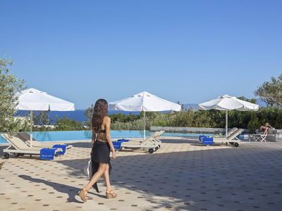 Photo for Heracles Suite 2, in luxury complex in Crete, with shared pool, 2 bedrooms, 5 sleeps