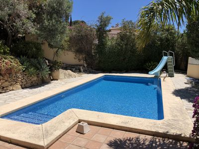 Photo for Comfortable holiday home with lovely garden and private pool