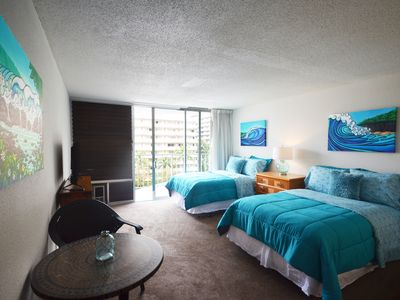 Photo for MS608 Center of Waikiki, close to beach, shopping & dining!