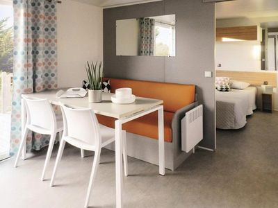 Photo for Camping Les Granges Bas ** - Mobile Home O'hara Life 3 Rooms 4 People PMR