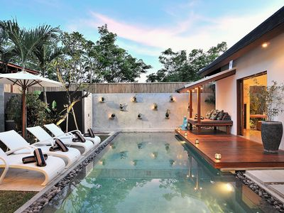 Photo for VILLA FLORES· Centrally located Beautiful Villa in  Seminyak.  Sleeps 8 pax, light, bright,  beautiful villa close to Eat Street.