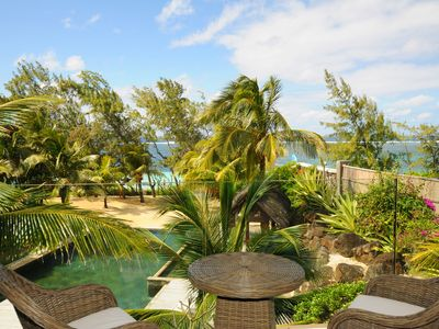 Photo for LUXURY APARTMENT ON THE BEACH WITH SWIMMING POOL plus child area, free wifi