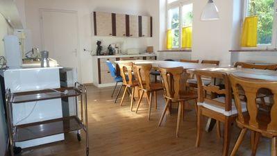 Photo for Creative comfort in the renovated school room, 123 sqm