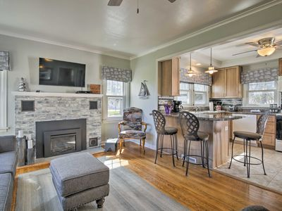 Photo for Modern Sturgeon Bay Home by Potawatomi State Park!