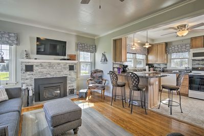 Experience the best of Sturgeon Bay from this vacation rental house!