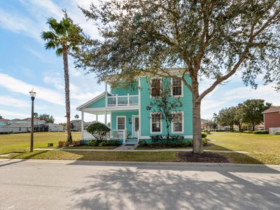 Photo for Family-friendly home w/ private pool, flatscreen TVS, close to golf and Disney!