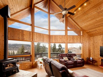 "Photo for Cedar ""Treehouse"" Overlooking Valley; Great for Kids & Adults;-PLEASE NO PARTIES"