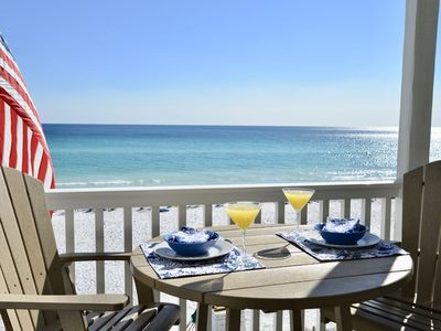 "Photo for ONE THE BEACH, 30A, SEAGROVE ""BEACH HAPPY"" Beach Service INCLUDED March - Oct."