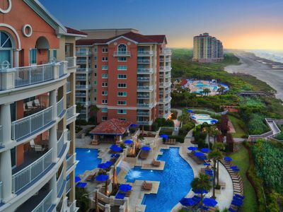 Photo for Ocean View Villa - Marriott Oceanwatch Villas in Myrtle Beach, SC!