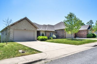 Street View ... Two Driveways, Two Garages, Nice Flat Front Yard to Enjoy Life!!