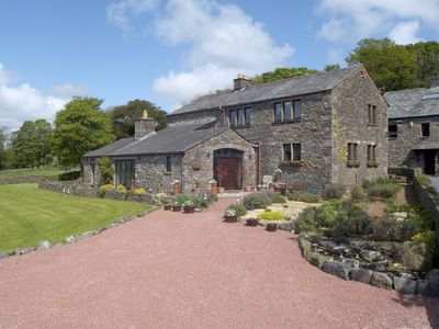Photo for A Luxury barn conversion ideal for visits to the Lake District, accommodates 8