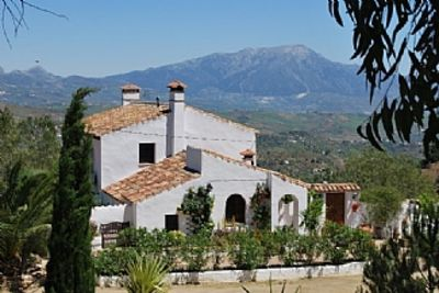 Photo for Large Andalucian Farmhouse, stunning views, pool & gardens,close to Natural Park