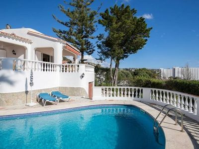 Photo for Although Villa Carrer Tres is a new addition, it is one of our most popular villas in Son Bou.......
