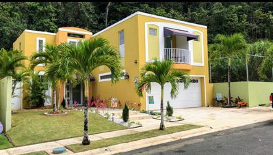 Photo for Beautiful 4br 10 mins close to beach in Dorado with pool/gym/sauna