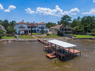 Photo for 14,000 square foot bayfront vacation rental perfect for weddings, family reunion