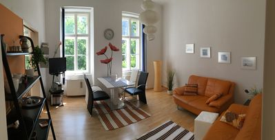 Photo for quiet but central flat, 75qm, excellent infastructure, dogs allowed
