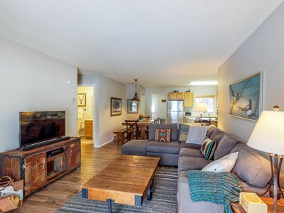 Photo for NEW LISTING! Comfortable Big Sky condo across the street from lift!