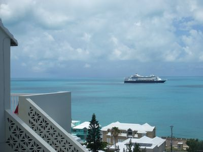 Cruise Ship Passing by