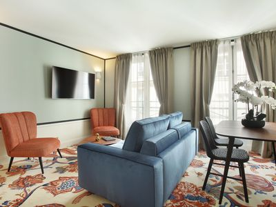 Photo for A Refined One-Bedroom with Services in Le Marais