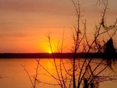 Photo for Private*Great View*Large Deck*Boathouse*Spectacular Sunsets*Sleeps 8+* Relax