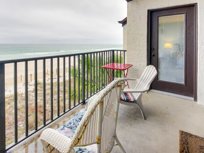Photo for Bright, oceanfront retreat w/ shared swimming pool - snowbirds welcome!