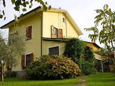 Photo for Immersed in the Tuscan countryside, five kilometers from the historic center of Lucca