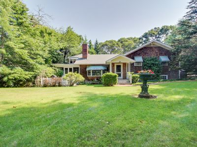 Photo for Beautiful estate w/large lawn made for socializing & kids' play room!