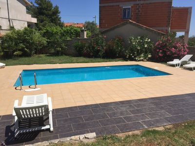 Photo for Holiday apartment with pool, air conditioning and Internet