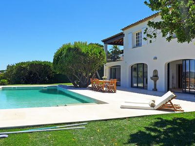 Photo for Beautiful private villa with WIFI, private pool, washing machine and parking