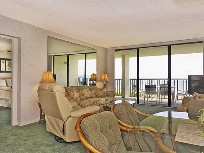 Photo for BEACH FRONT PENTHOUSE w/Private Balcony - Master Bedroom & Living Room on Ocean