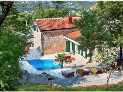 Photo for This 5-bedroom villa for up to 11 guests is located in Crikvenica and has a private swimming pool, a
