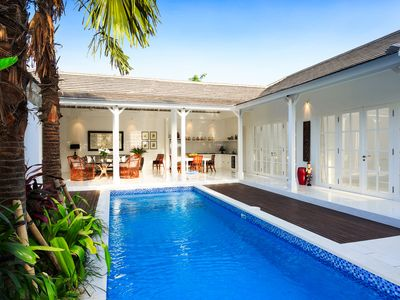 Photo for Elegant Hideaway with a Pool in Beach House Berawa Canggu