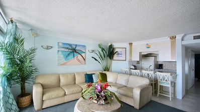 Photo for Fabulous Ocean Front  Right on the beach with a pool