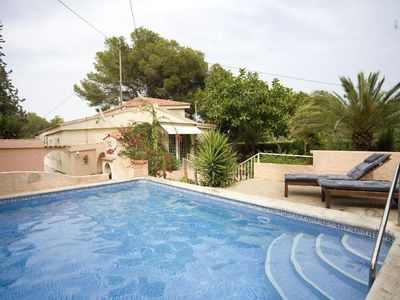 Photo for 2 bedroom Villa, sleeps 4 in Altea with Pool and Air Con