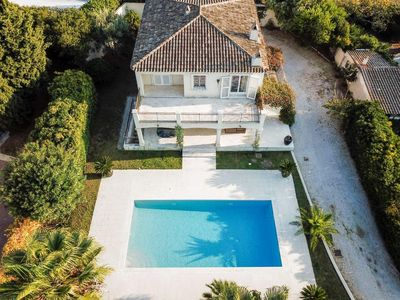 Photo for BEAUTIFUL VILLA with pool located in the heart of ST TROPEZ