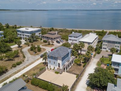 Only 1 House From North Beach! Water Views, Outdoor Fun with Fire Pit