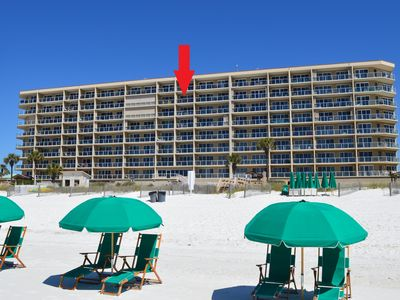 Photo for Sterling Sands 707🌞🌞Beachfront⛵ ⛵ 2BR/2BA Amazing Gulf View🌴Perfect Location