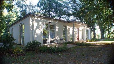 Photo for Holiday house in the castle park Hohen Niendorf with terrace and view to the Baltic Sea