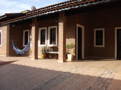 Photo for P001- House 3 bedrooms swimming pool, barbecue (11) 98167-1362 - up to 12x s / interest in the card