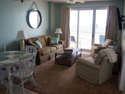 Photo for Brightly Furnished Beachfront Condo - 8th Floor Gulf View! Remodeled Winter 2014