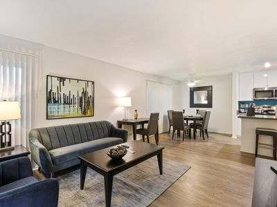 Photo for Minutes away from Universal, Warner Brothers and other major studios. LA 2 bedroom Apartment