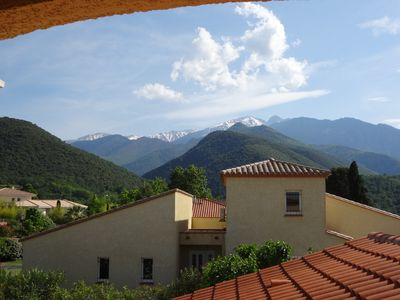 Photo for Lovely holiday villa. 4 bedrooms and pool, Finestret, Pyrenees Orientales
